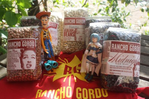 Rancho Gordo Bean Club, Spring Box 2014 Contents by here-and-faraway