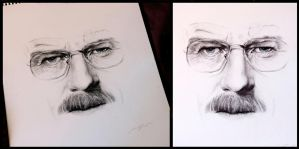 Walter White by Chipperface