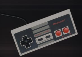 old skool nintendo controller by scan-tek
