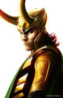 The Avengers - Loki by maXKennedy