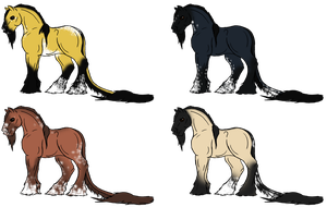 New Breed Adopts - Closed - Winners by Spudalyn
