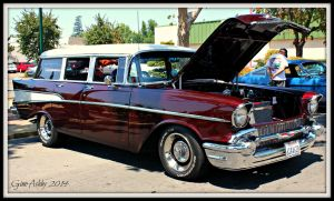 1957 Chevy Wagon by StallionDesigns