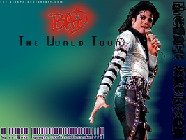 Bad The World Tour by zuzanka7771