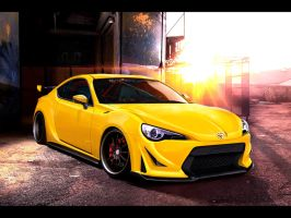 Toyota GT86 by dxprojects