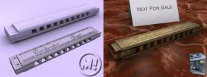 Harmonica by Marty--McFly