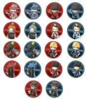 TF2 Badges by Lindajing