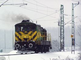 M44 309 in Snow by morpheus880223
