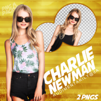 PNG PACK #4 - Female Model (Charlie Newman) by rudimentarily