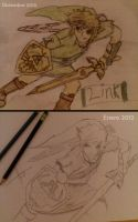 Old Link vs New Link by humberto-max