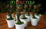MADE TO ORDER Baby Groot figures from GOTG by stephanie1600