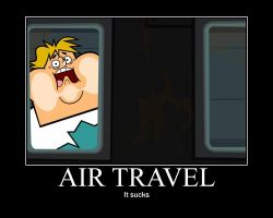 Total Drama Flying by AbominationOfTime
