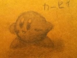 Kirby Doodle by Sorida777