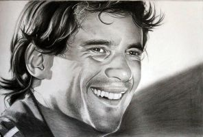 Ayrton Senna by donchild