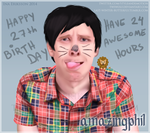 Happy 27th Birthday, Phil Lester! by inaeriksson