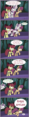 Moody Mark Crusaders 4: CMC Bridge Jumpers Yay! by Slitherpon