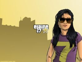 ELAINE +wallpaper+ by bananakid-z