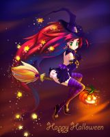 Helloween witch by maze-d