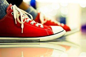My Red Converse by tommysebastian