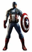 Captain America costume edits by jayodjick