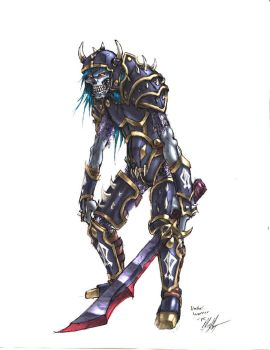 Undead warrior 108 by KNKL