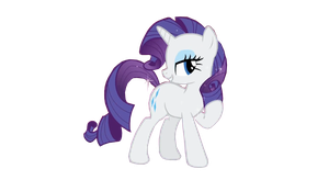 Wektor Rarity by DixieRarity