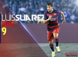 Suarez Wallpaper 2015-16 by subhan22