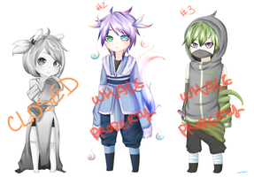 [AUCTION] Zodiac Adoptables [2/3 OPEN] by plaushe