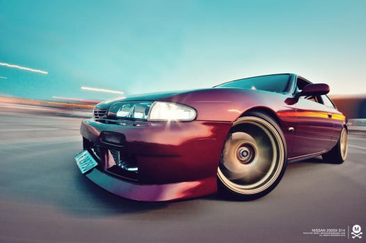 Nissan 200sx s14 by mers01