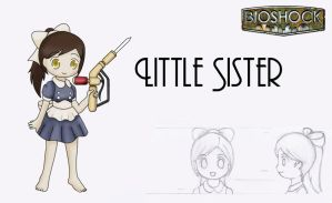 Bioshock: Little Sister by Alice13th