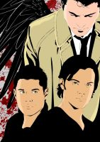 Team Free Will-Happy Halloween by liliesgrace