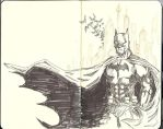 Sketchbook 01- It's the Bat by M-House
