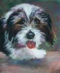 Bently Panting by Wulff-Arts