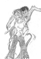 Rigrena ghost girl character by dragonman12