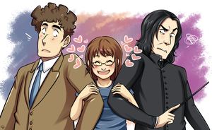 Me and my Fictional Husbands by Angel-soma