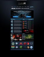 ClansPT Website Template by SrAfonso