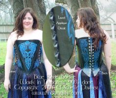 Blue Rose Bodice WIP2 by MPFitzpatrick
