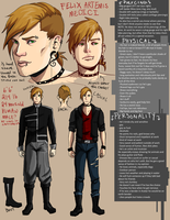 Updated FELIX REFERENCE SHEET by Kuneria