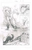 Durontus Rising Page 15 Pencils by KillustrationStudios