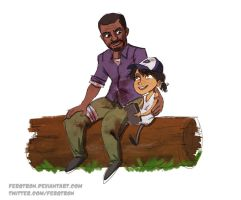 Lee and Clementine by Fergtron