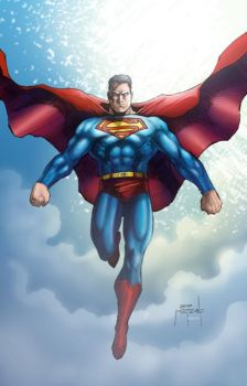 Superman Hovering by JeffieB