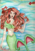 the mermaid of the reef by DreamyNaria