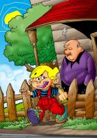 dennis the menace by themico