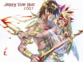 Happy new year_SetoYami by egosun