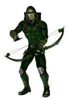 Green Arrow by greaperx666