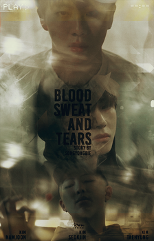 JIN X V X RAP MONSTER // BLOOD, SWEAT AND TEARS by CHAEY04