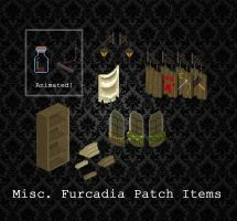 Furcadia Items - Pack 01 by PointyHat