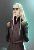 Young Thranduil by CCCrystalClear