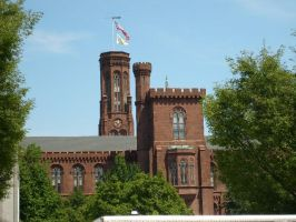 The Smithsonian Castle by Elvishhobbit