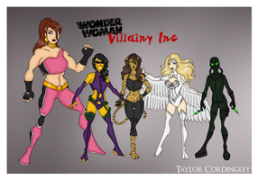 My DCU - Villainy Inc Redesigned by Femmes-Fatales