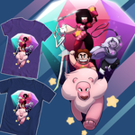 Steven Universe Shirt Design #1 by AylaStarDragon